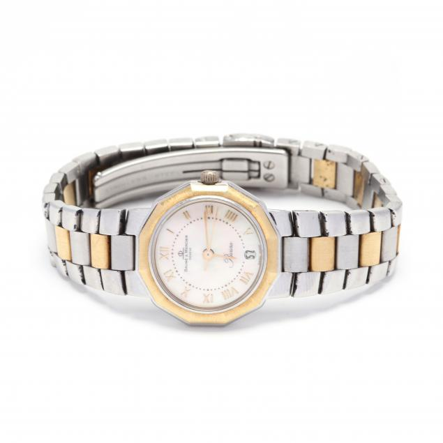 lady-s-two-tone-riviera-watch-baume-mercier