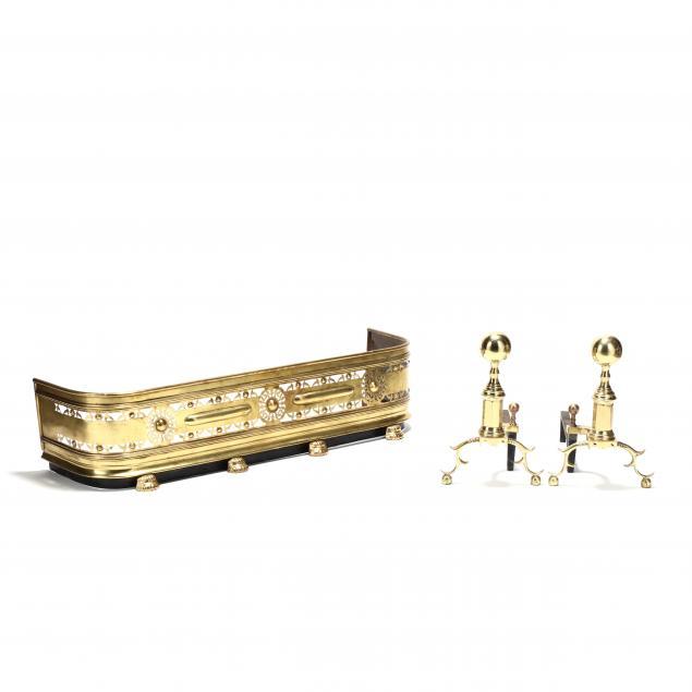 assembled-brass-fireplace-grouping