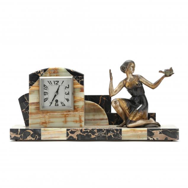 art-deco-figural-clock