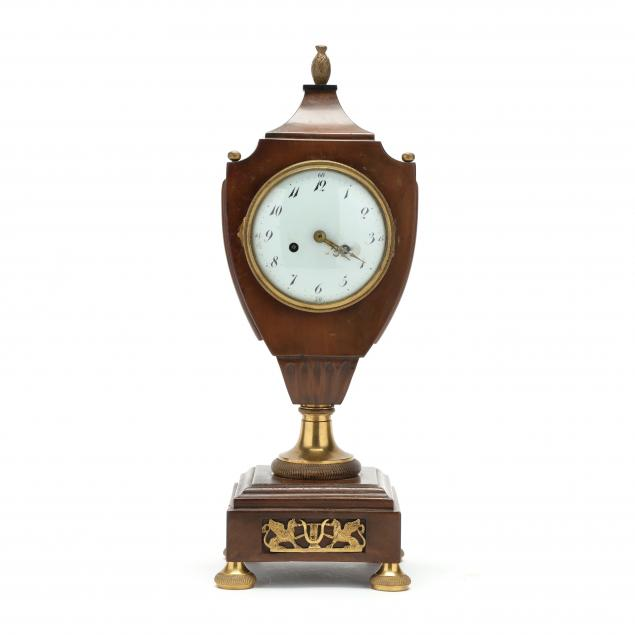 neoclassical-mantel-clock-in-wooden-case