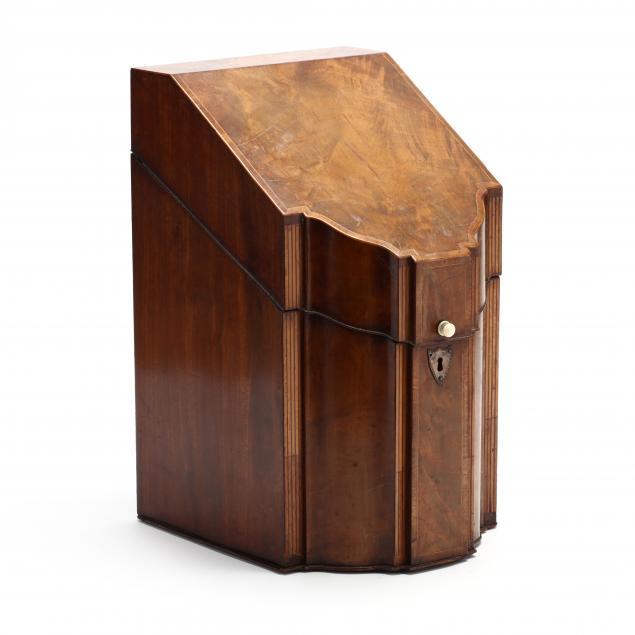 antique-english-inlaid-mahogany-cutlery-box