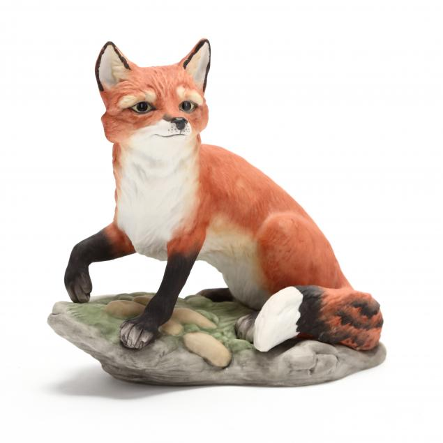 boehm-porcelain-fox