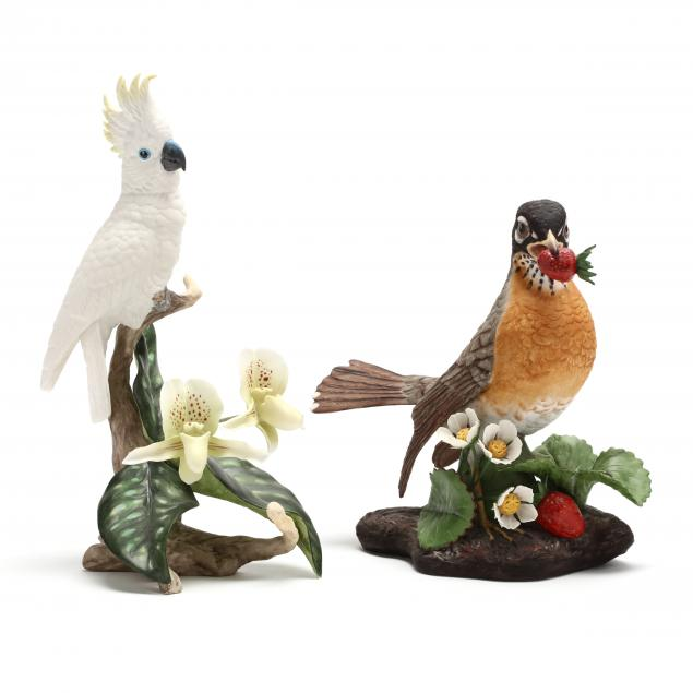 two-boehm-porcelain-bird-figurines