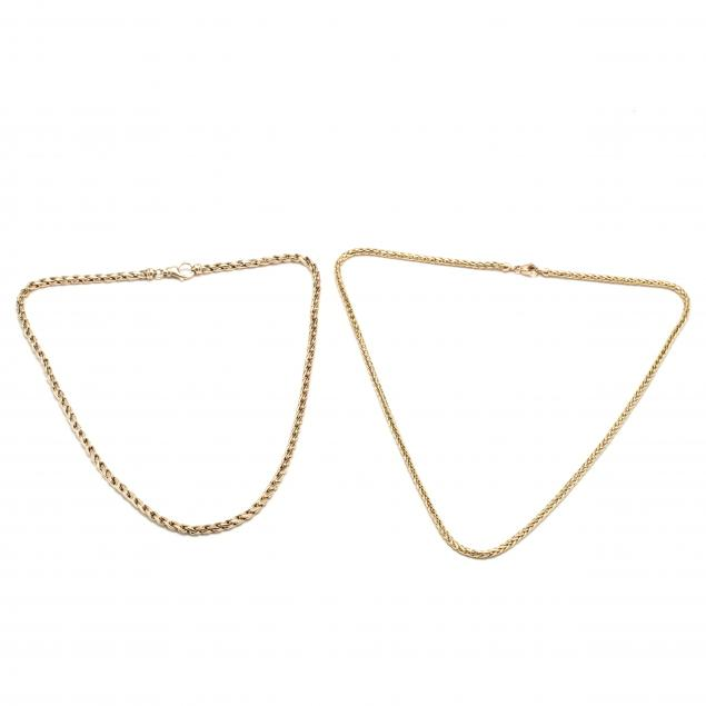 two-gold-chain-necklaces