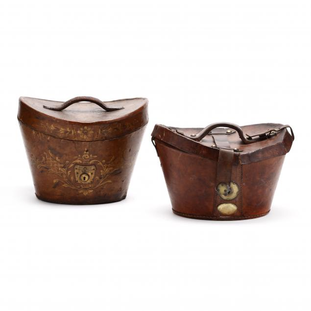 two-19th-century-leather-hat-boxes