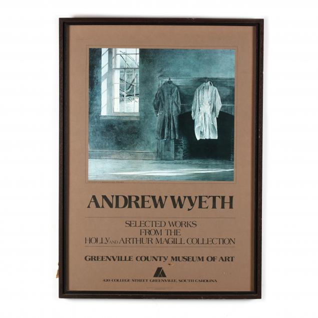 a-vintage-andrew-wyeth-exhibition-poster
