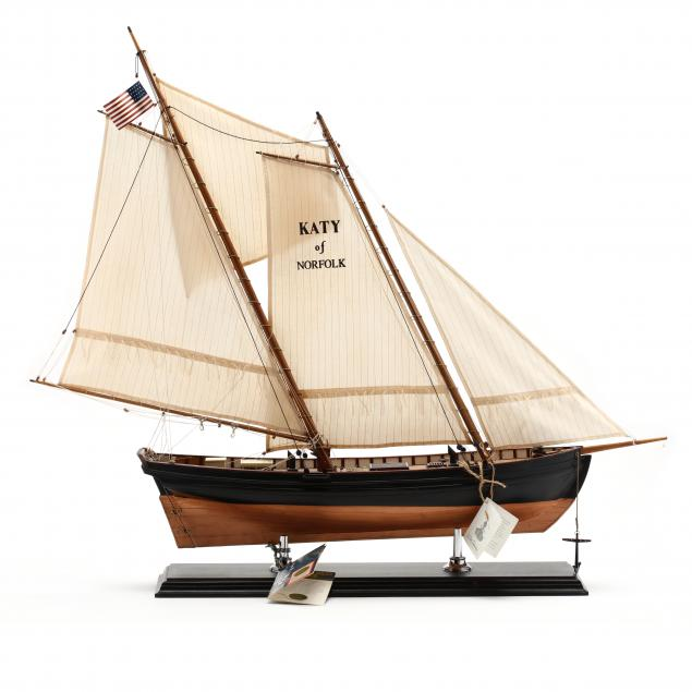 replica-model-sailboat-katy-of-norfolk