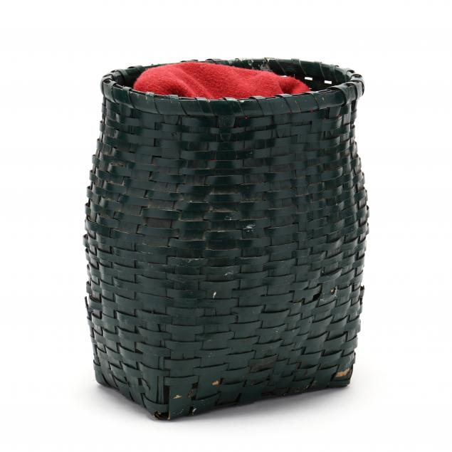 green-painted-back-pack-basket