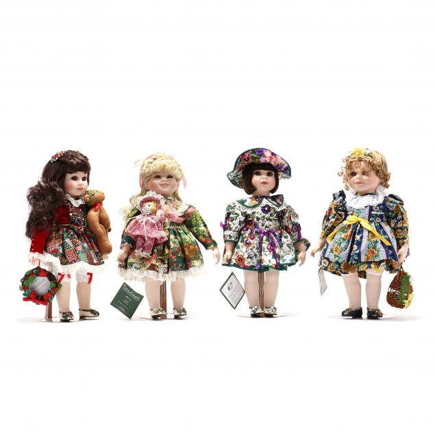 four-bob-timberlake-collectible-dolls-designed-by-bette-ball