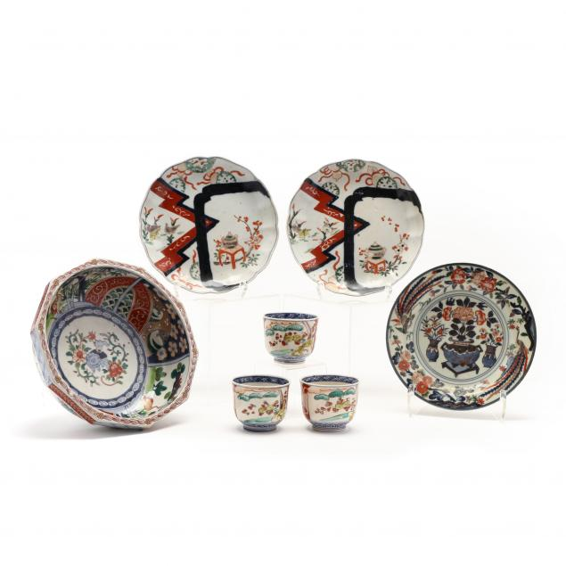 a-group-of-japanese-imari-porcelain