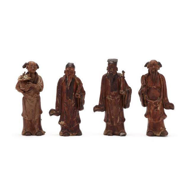 four-chinese-pottery-figures