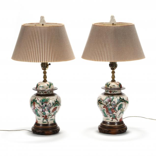 a-pair-of-chinese-crackleware-warrior-covered-jar-lamps