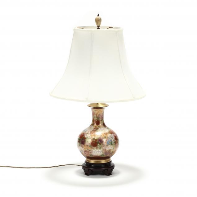an-asian-satsuma-millefleurs-vase-lamp