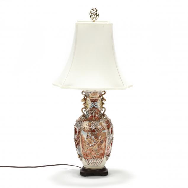 a-japanese-satsuma-vase-lamp