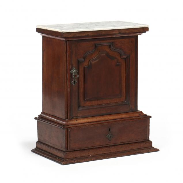 antique-english-oak-spice-cabinet