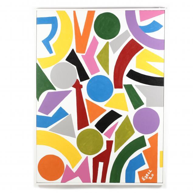 sam-ezell-nc-large-colorful-hard-edge-painting