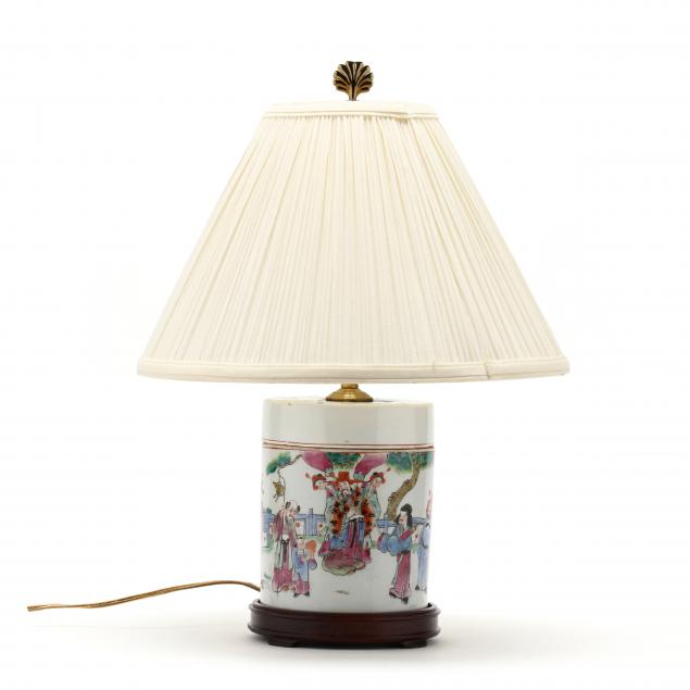 a-chinese-porcelain-famille-rose-covered-jar-lamp