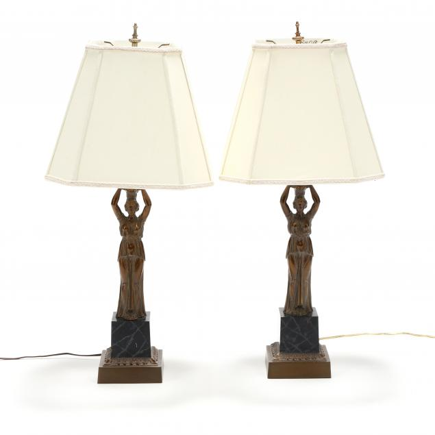 pair-of-hellenistic-style-figural-lamps