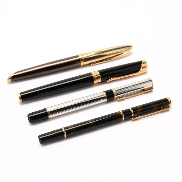 four-fine-waterman-writing-instruments