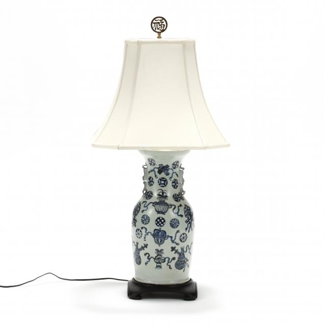 a-chinese-celadon-ground-blue-and-white-porcelain-vase-lamp