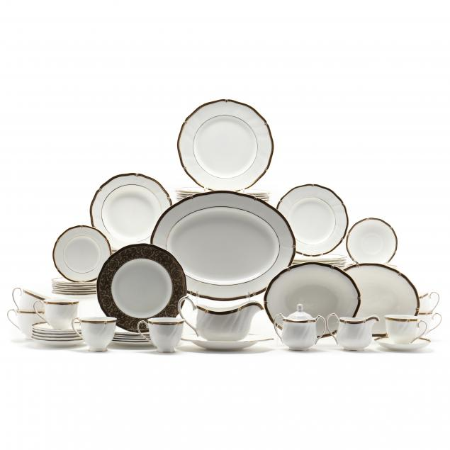 set-of-wedgwood-china-windsor-black-service-for-eight-62-pieces