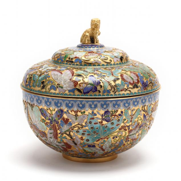 a-chinese-cloisonne-butterfly-jar-with-cover