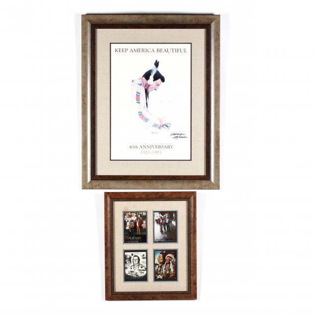 framed-iron-eyes-cody-and-bob-timberlake-items