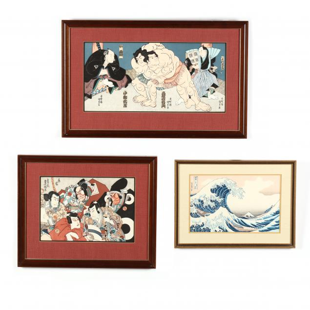 three-japanese-woodblock-prints