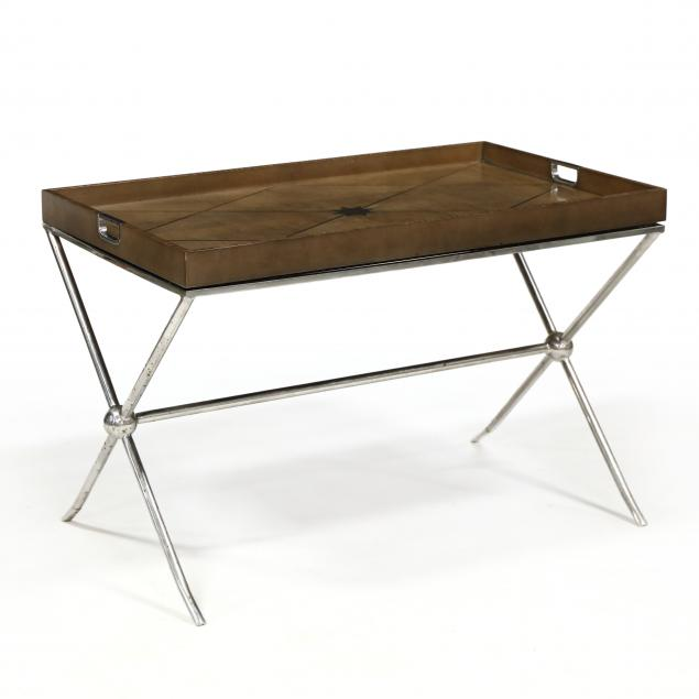 att-theodore-alexander-maple-and-steel-butler-s-tray-on-stand