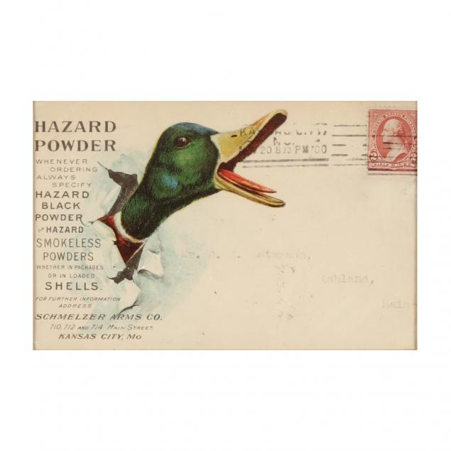 a-framed-antique-hazard-powder-advertising-envelope