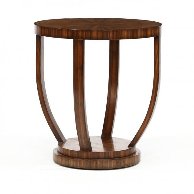 att-theodore-alexander-modern-rosewood-veneer-center-table