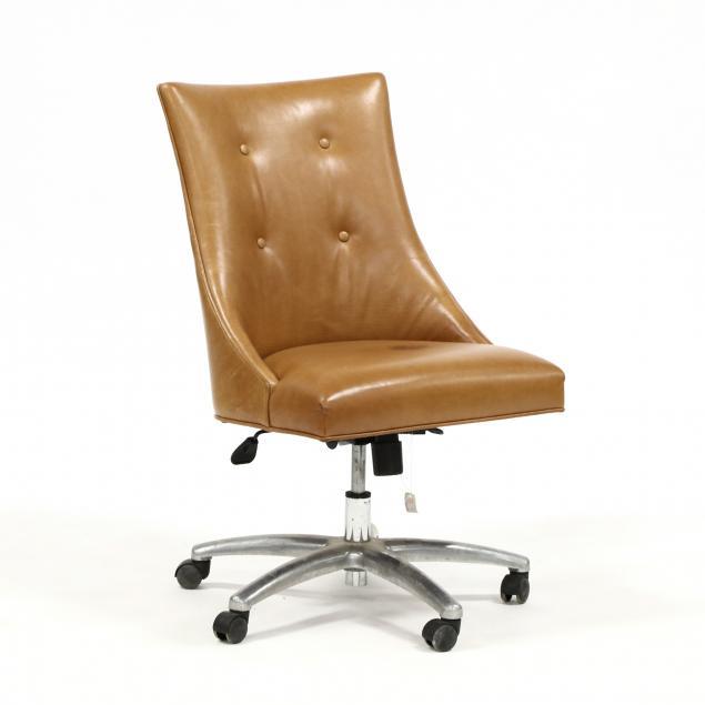 att-theodore-alexander-leather-office-chair