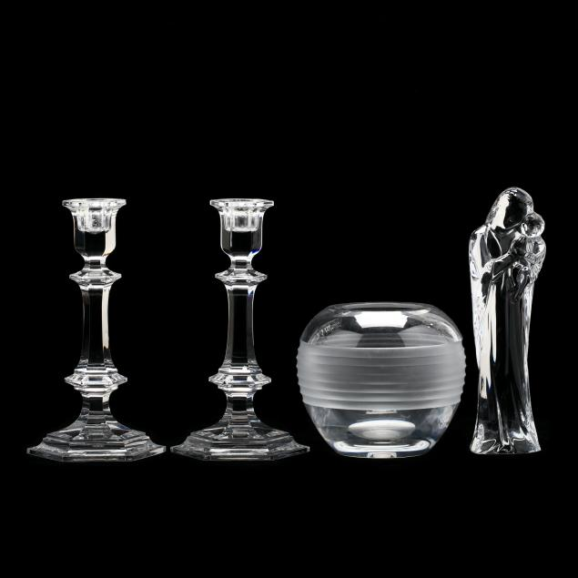four-pieces-of-baccarat-crystal