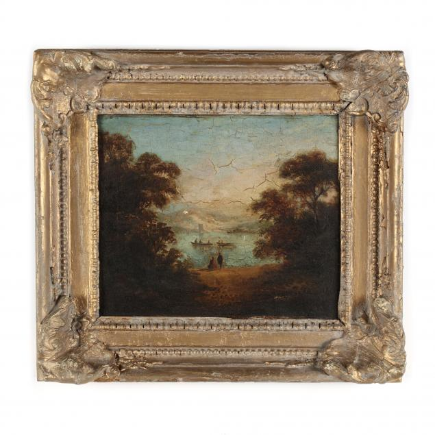 continental-school-19th-century-landscape-with-lake-and-figures