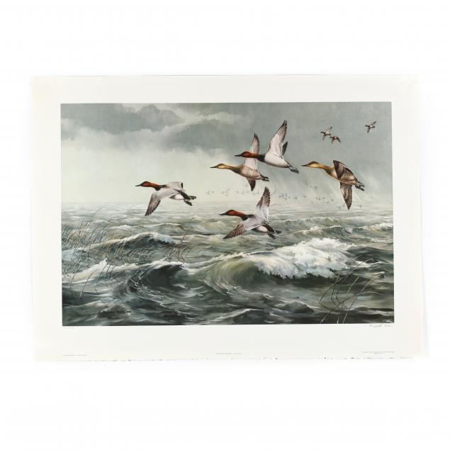 maynard-reece-ia-1920-2020-i-rough-water-canvasbacks-i