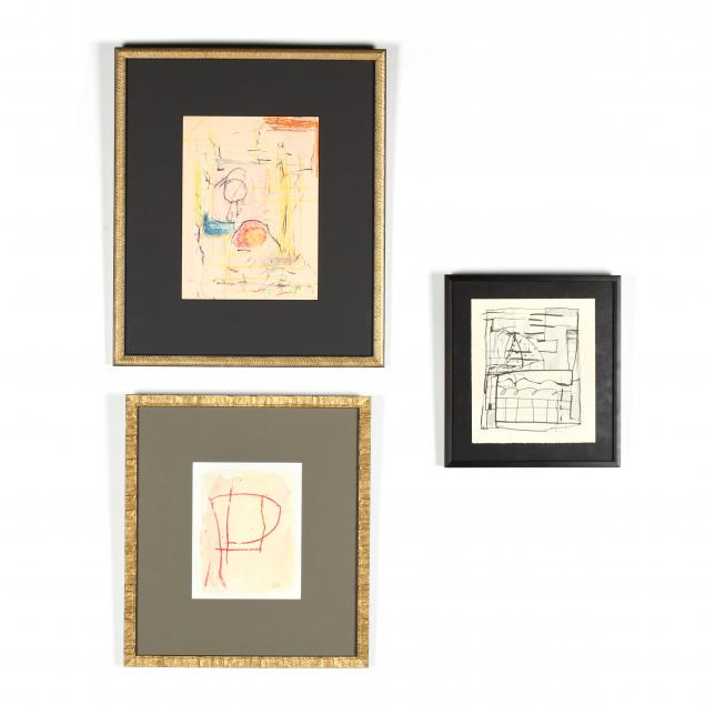three-contemporary-works-on-paper