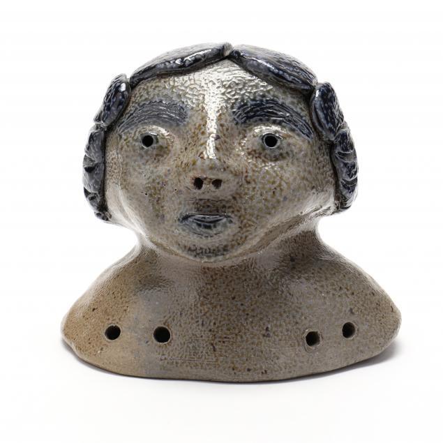 nc-folk-pottery-billy-ray-hussey-doll-head