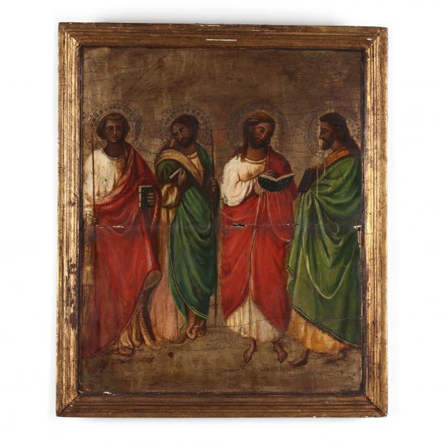 an-antique-russian-icon-of-four-saints
