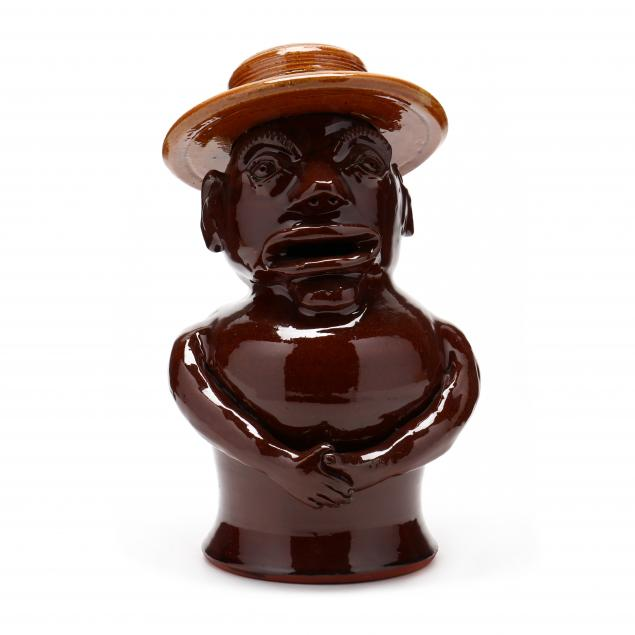 nc-pottery-billy-ray-hussey-man-in-hat-figure