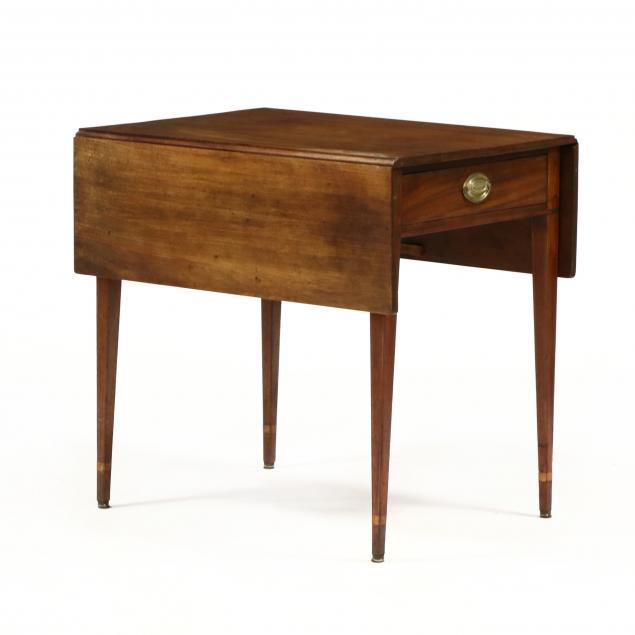 federal-inlaid-mahogany-pembroke-table