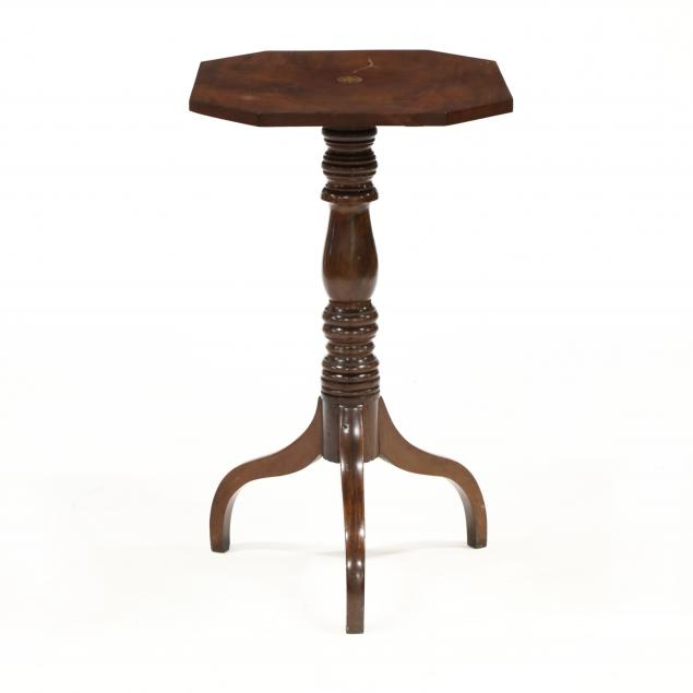 federal-inlaid-mahogany-tilt-top-candlestand