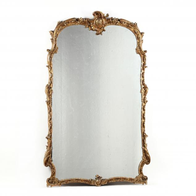large-antique-rococo-style-carved-and-gilt-mirror