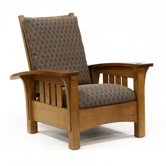 stickley-mission-oak-morris-chair