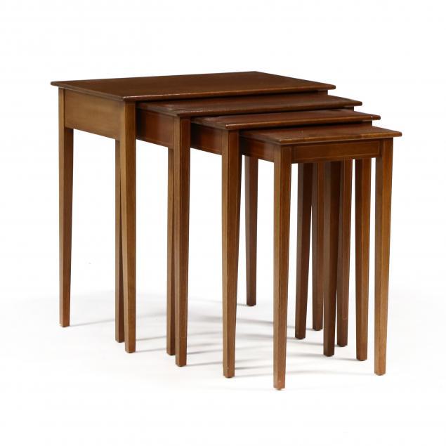 biggs-set-of-four-inlaid-mahogany-nesting-tables