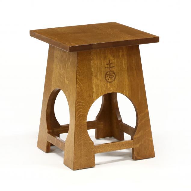 stickley-roycrofters-mission-oak-side-table