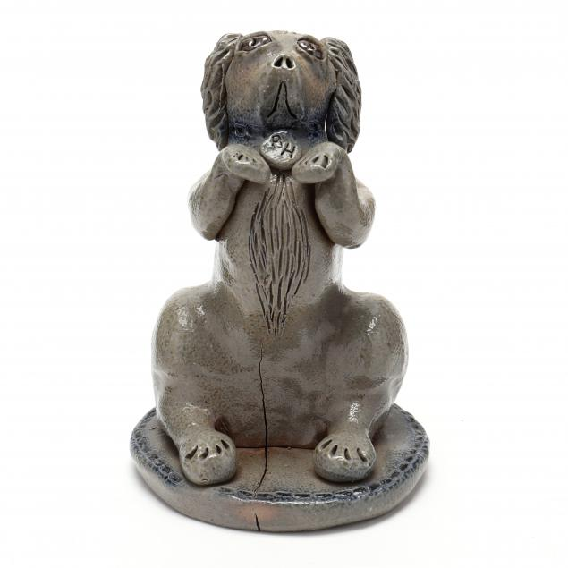 nc-folk-pottery-billy-ray-hussey-begging-dog
