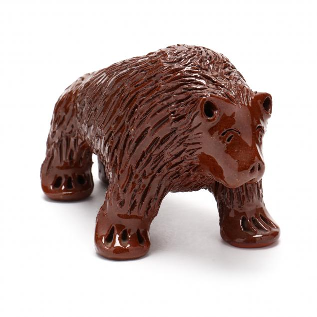 nc-folk-pottery-billy-ray-hussey-standing-bear