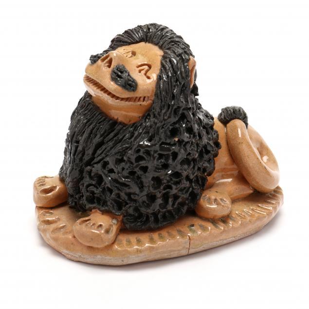 nc-folk-pottery-billy-ray-hussey-lion