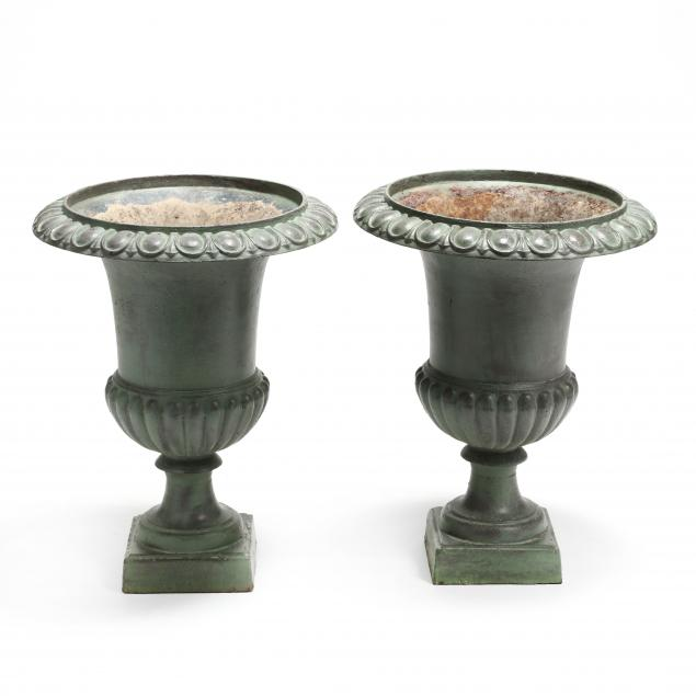 a-pair-of-painted-iron-garden-urns