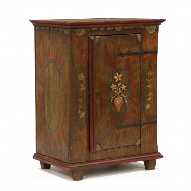 a-continental-painted-pine-cabinet